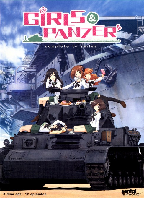 Girls und panzer:Complete tv collecti (DVD) - image 1 of 1