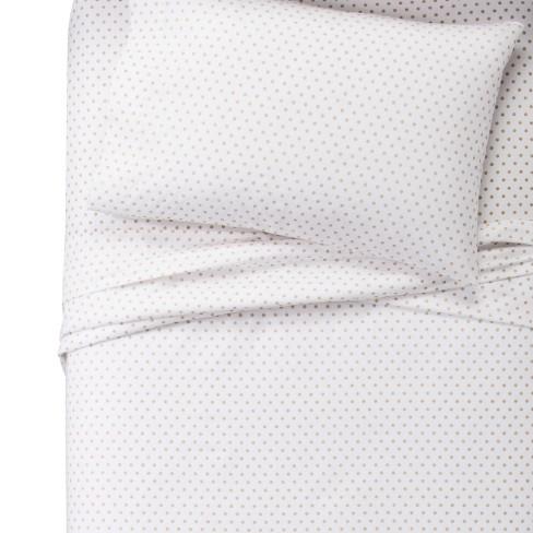 Metallic Dots Cotton Sheet Set - Pillowfort™ - image 1 of 2