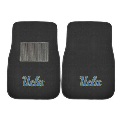 NCAA UCLA Bruins Embroidered Car Mat Set - 2pc