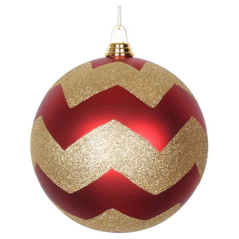 about this item - Red And Gold Christmas Decorations