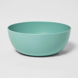 37oz Plastic Cereal Bowl Green - Room Essentials™
