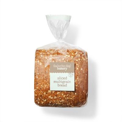Sliced Multigrain Bread - 17oz - Favorite Day™