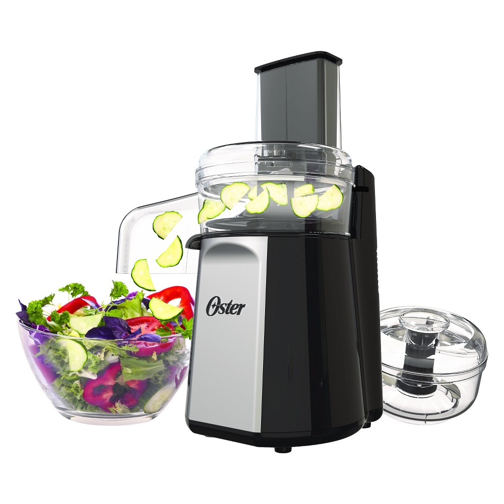 Oster Oskar 2 in 1 Food Processor and Salad Shooter – FPSTFP4050-000, Black 50486134