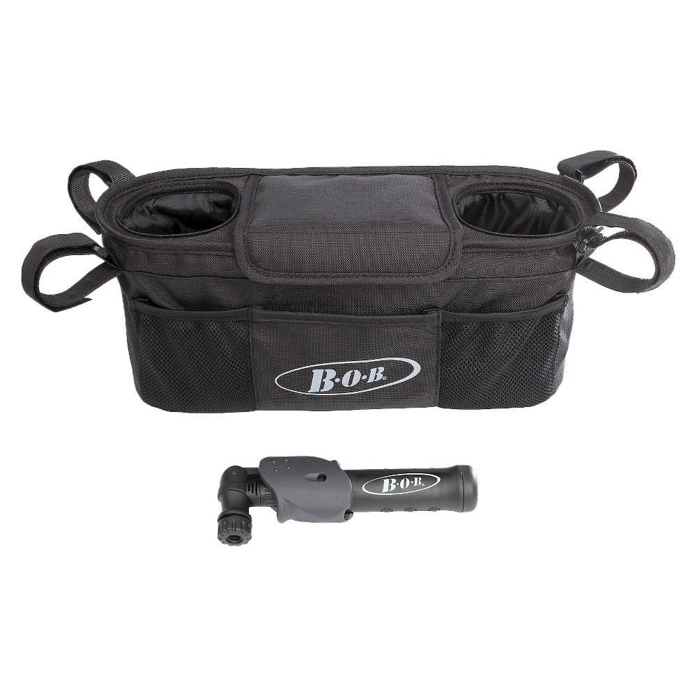 Bob Single Handlebar Console with Pump - Black