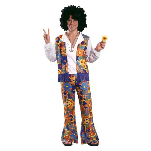 Men's Hippie Adult Costume One Size Fits Most - image 1 of 1
