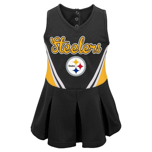 Pittsburgh Steelers Toddler Girls  Cheer Set 3T   Target 97a5661f6