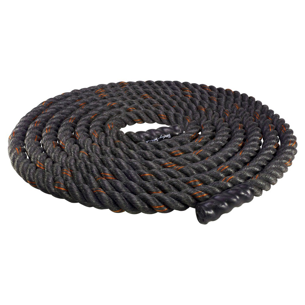 Body Solid Fitness Training Rope - (BSTBR2040), Black