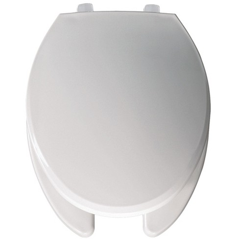 Peachy Bemis 7650T Elongated Open Front Commercial Toilet Seat And Lid Creativecarmelina Interior Chair Design Creativecarmelinacom