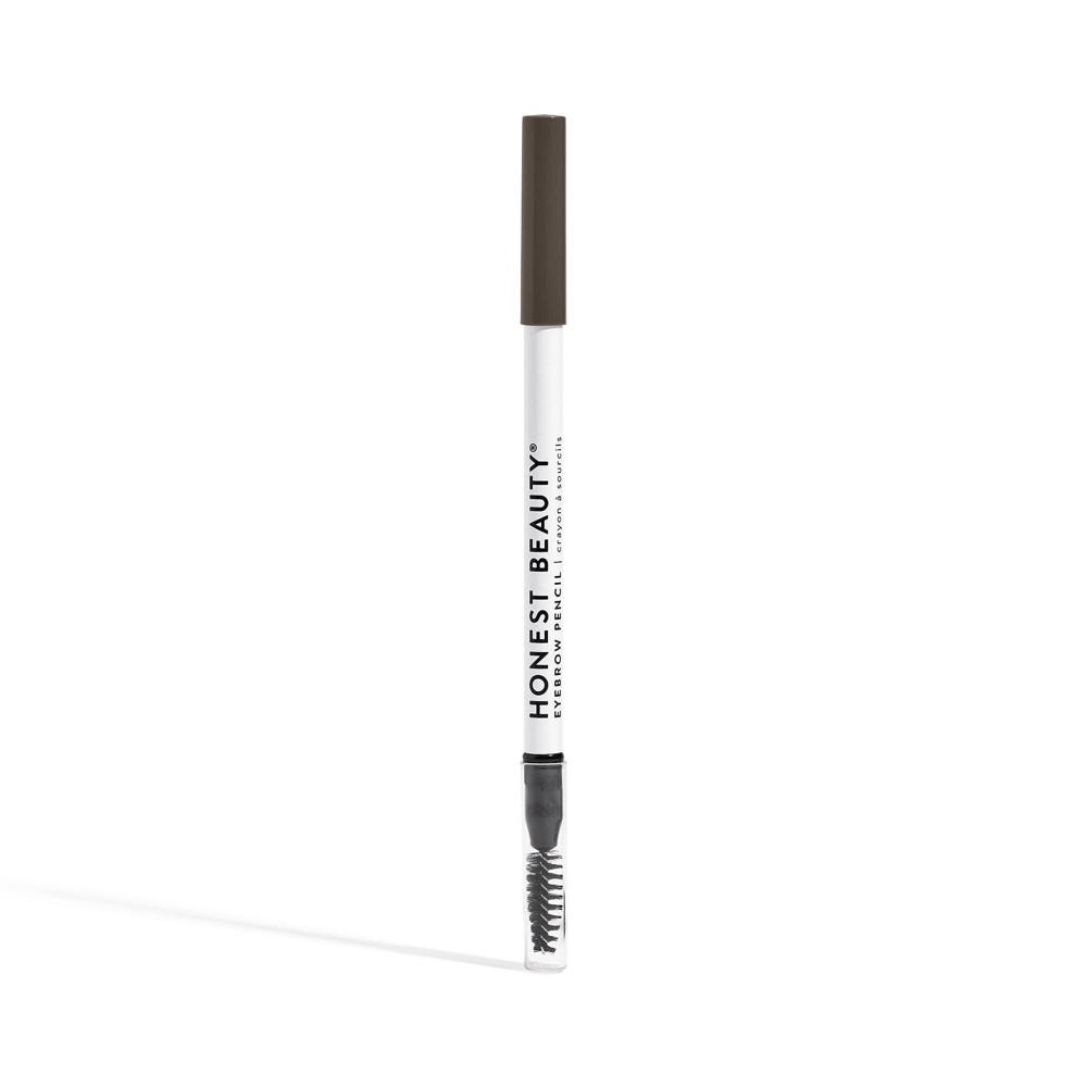 Honest Beauty Eyebrow Pencil Ash Brunettte With Jojoba Oil 0 039oz