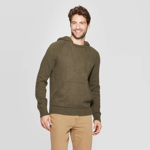 Men's Standard Fit Hooded Pullover Sweater - Goodfellow & Co™ - image 1 of 3