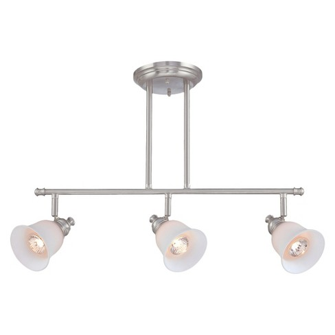 Lite Source Alcee Semi-flush Mount Ceiling Light - Silver - image 1 of 1