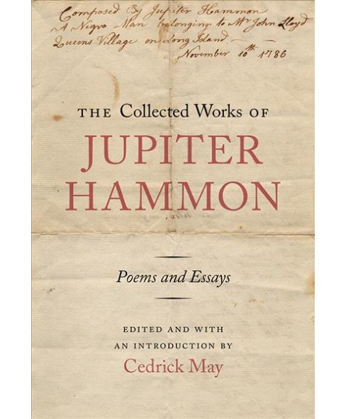 Collected Works of Jupiter Hammon : Poems and Essays (Hardcover) - image 1 of 1
