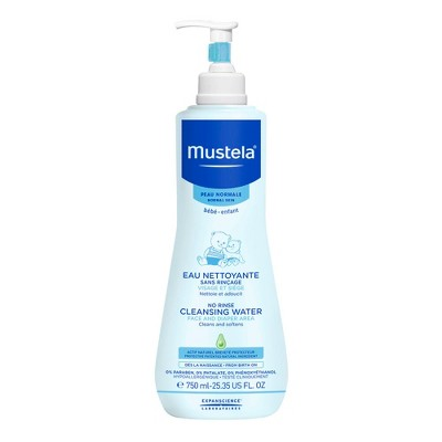 Mustela No Rinse Cleansing Water - 25.35oz