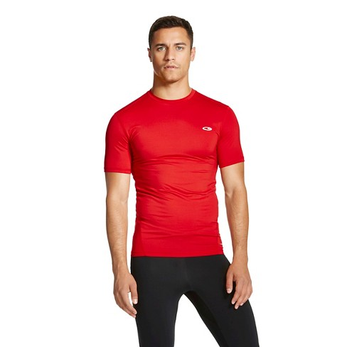 Men's Big & Tall Powercore Compression Shirt - C9 Champion® Ripe Red XXXL Tall - image 1 of 2