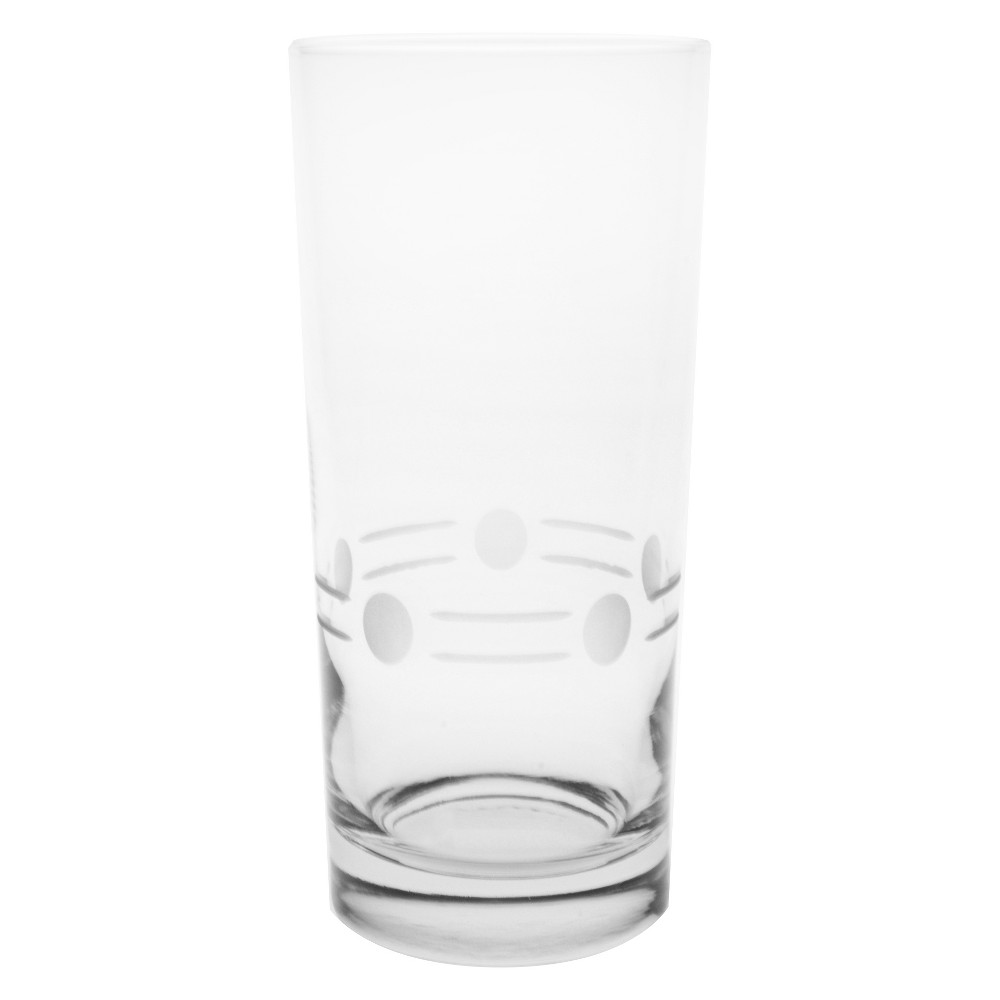 Image of 15oz 4pk Boogie Glass Coolers - Rolf Glass, Clear