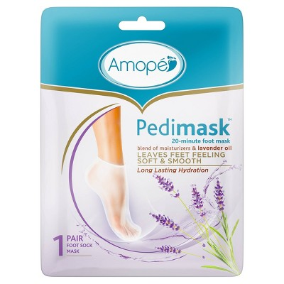 Amope Pedimask 20-Minute Foot Mask - Lavender Oil - 1.6oz