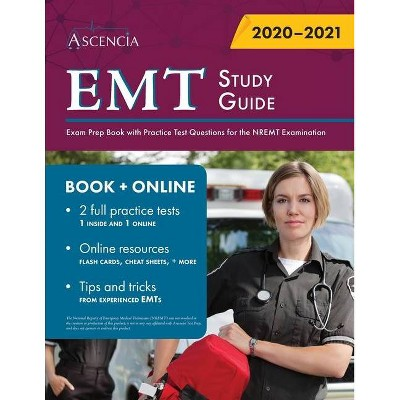 EMT Study Guide - by  Ascencia (Paperback)