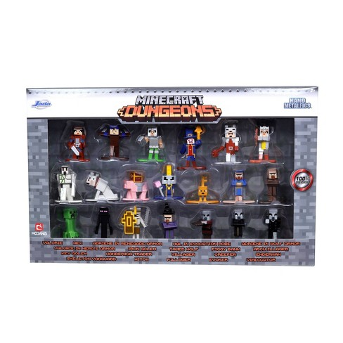 "Jada Toys Nano Metalfigs Minecraft Die-Cast Figures 1.65"" 20-Pack - image 1 of 3"