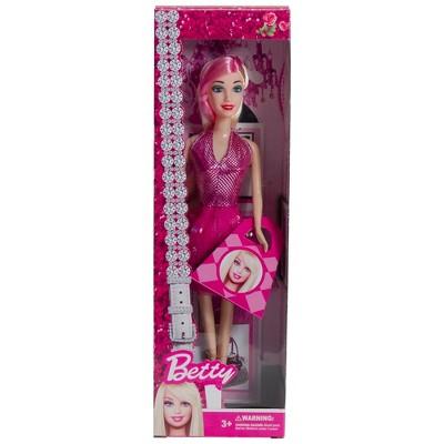 "Northlight 11"" Pink Contemporary Beautiful Betty Diva Play Doll"