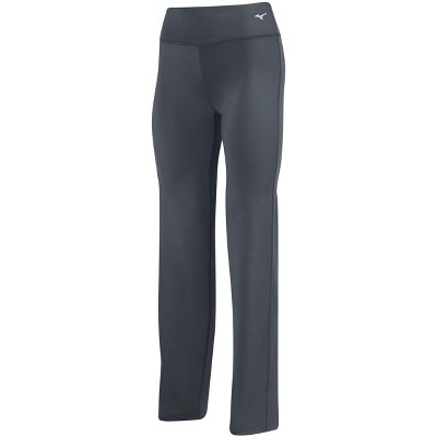 Mizuno Youth Girl's Align Volleyball Pant Girls Size Medium In Color Charcoal (9292)
