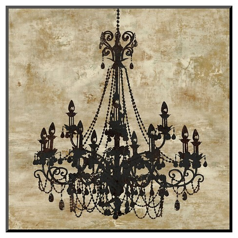 Art.com - Chandelier I by Oliver Jeffries - Mounted Print - image 1 of 1
