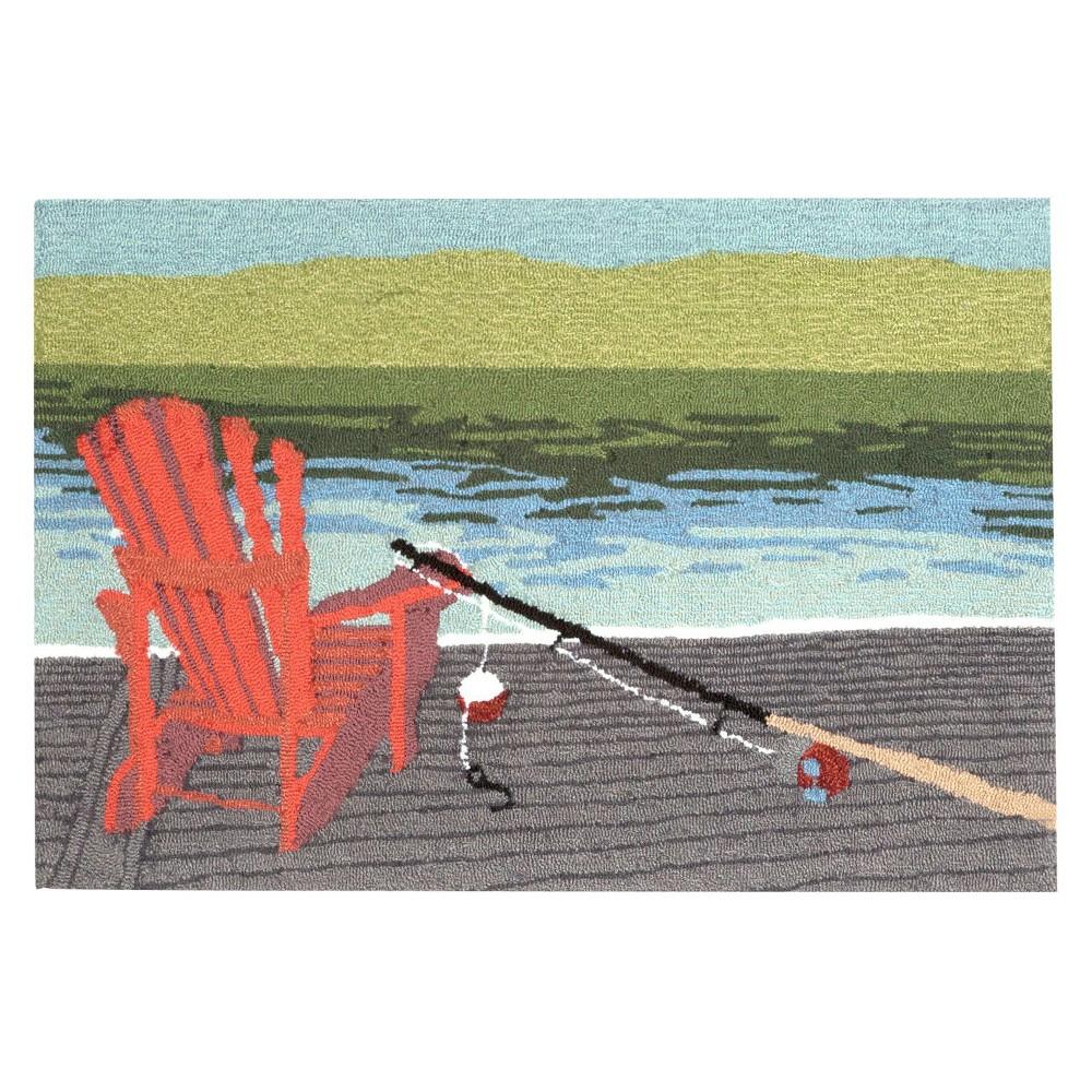 Frontporch Indoor/Outdoor Lakeside Water Rug 20