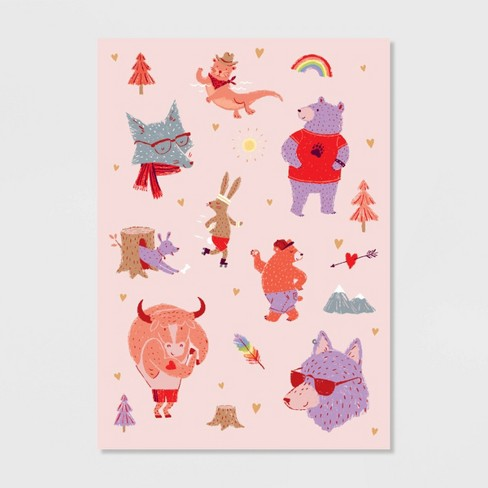 Animals Valentine's Day Greeting Card - image 1 of 4