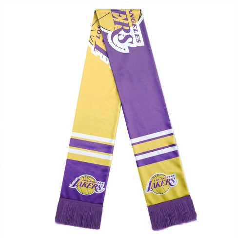 c0f31dbe030bb NBA Los Angeles Lakers Colorblock Big Logo Scarf   Target