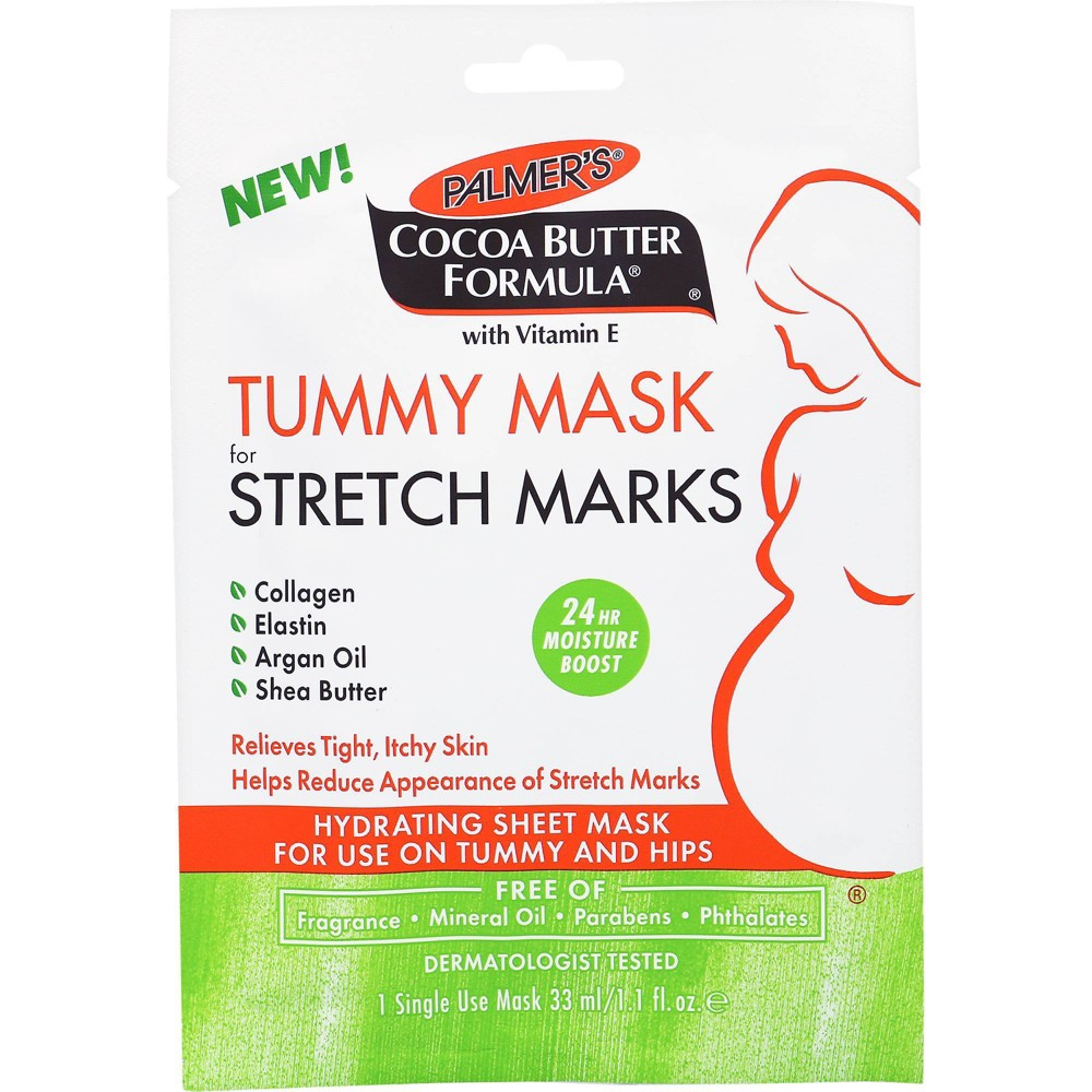 Image of Palmers Cocoa Butter Formula Tummy Mask for Stretch Marks - 1.1 fl oz