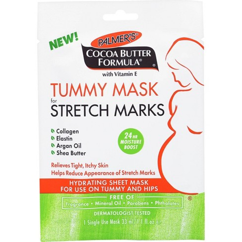 Palmers Cocoa Butter Formula Tummy Mask For Stretch Marks - 1.1 Fl Oz :  Target