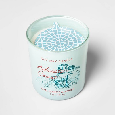 5oz Glass Jar Candle Adriatic Coast - Opalhouse™