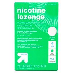 Nicotine 4mg Lozenge Stop Smoking Aid - Mint - Up&Up™