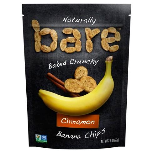Bare Baked Crunchy Cinnamon Banana Chips - 2.7oz - image 1 of 3
