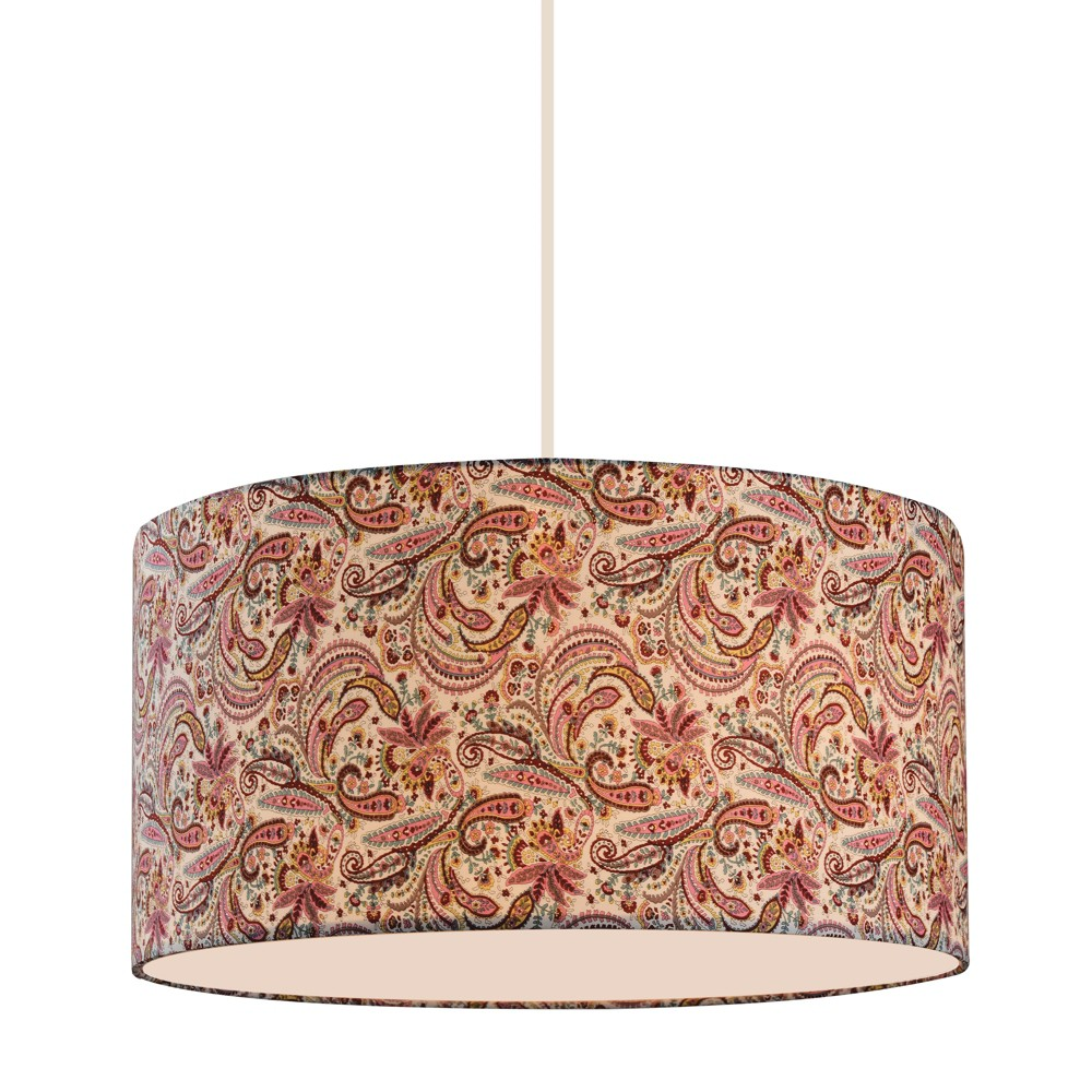 Pendant Ceiling Lights with Pink Glass (Set of 3) - Z-Lite