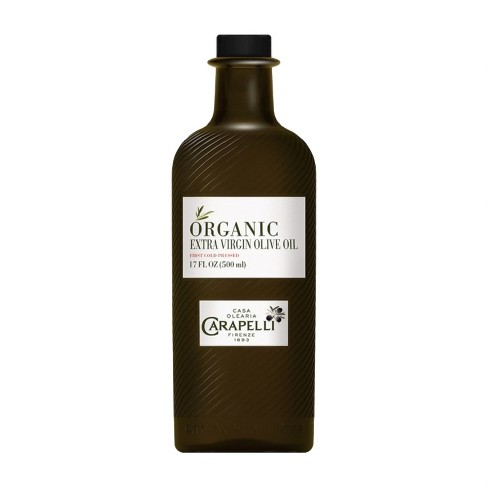 Carapelli Organic First Cold Press Extra Virgin Olive Oil - 17oz - image 1 of 4
