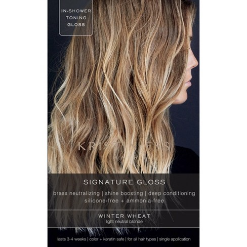 Kristin Ess Hair Signature Gloss Temporary Hair Color - Winter Wheat