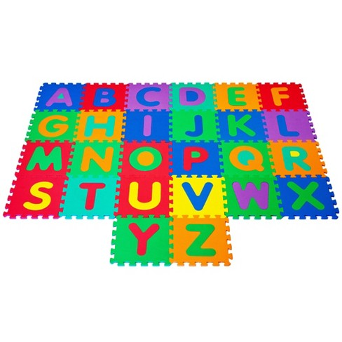 Hey Play Kids Foam Floor Alphabet Puzzles Mat 26pc