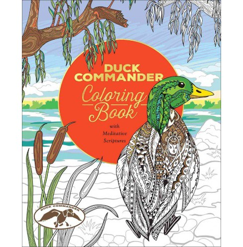 Duck Commander Coloring Book : With Meditative Scriptures (Paperback) - image 1 of 1