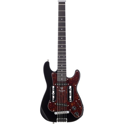 traveler guitar eg 2 standard electric travel guitar with deluxe gig bag target. Black Bedroom Furniture Sets. Home Design Ideas