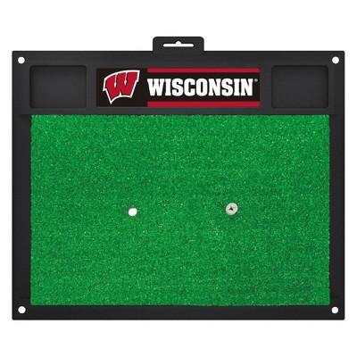 NCAA Wisconsin Badgers Fan mats Golf Hitting Mat