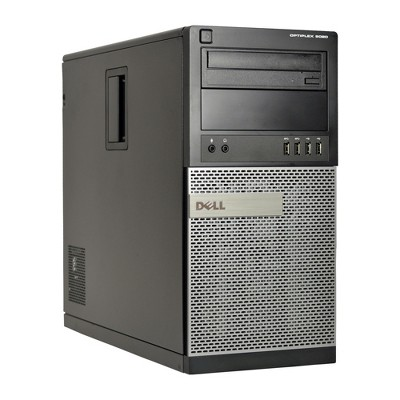 Dell 9020-T Certified Pre-Owned PC, Core i5-4570 3.2GHz, 8GB Ram, 2TB HDD, Win 10 Pro (64-bit) Manufactured Refurbished