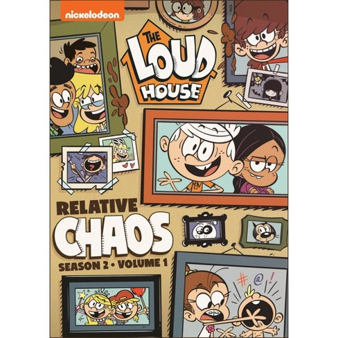 The Loud House: Relative Chaos - Season 2, Volume 1 (DVD) - image 1 of 1