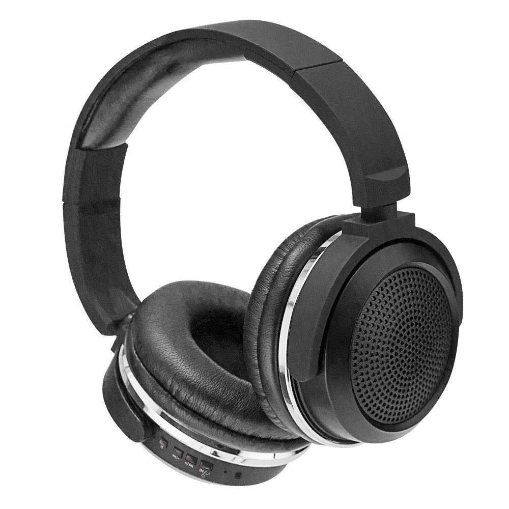 Sentry BT600 Bluetooth Headphones with Microphone - Black