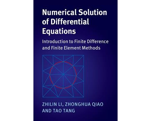 Numerical Solution of Differential Equations : Introduction to Finite Difference and Finite Element - image 1 of 1