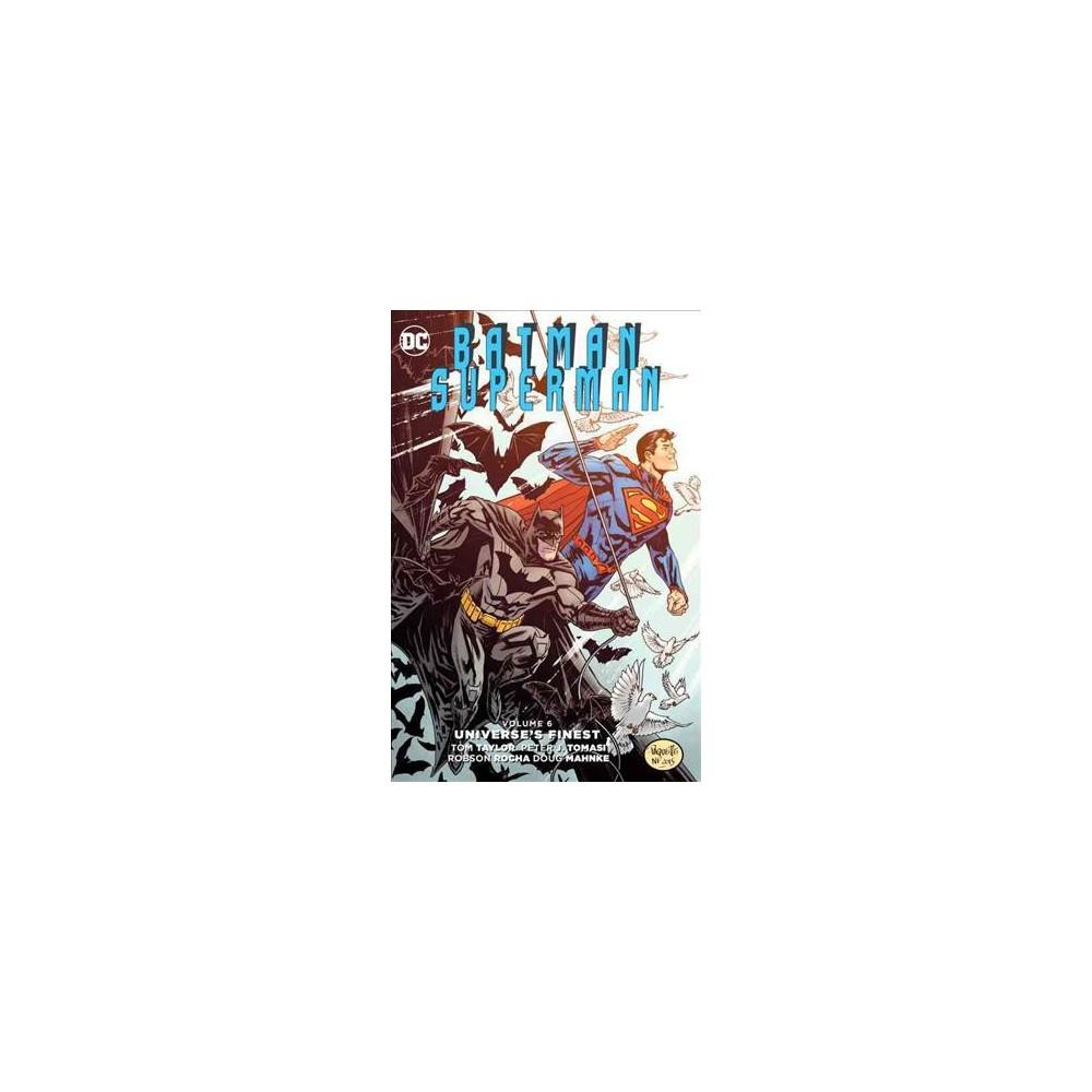 Batman / Superman 6 (Vol 1) (Hardcover) (Tom Taylor & Peter J. Tomasi)