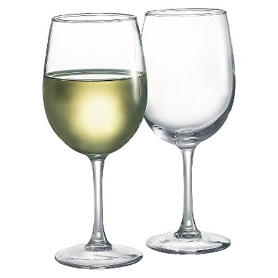 Luminarc White Wine Glasses 12oz - Set of 4