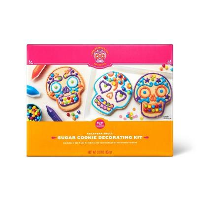 Dia de Muertos Calavera Skull Sugar Cookie Kit - 13.9oz - Hyde & EEK! Boutique™