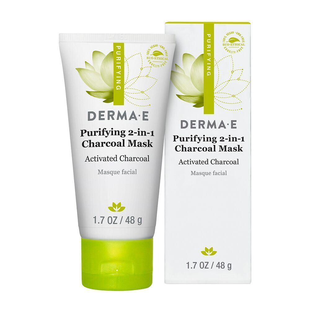 derma e Purifying 2-1 Charcoal Mask 1.7oz