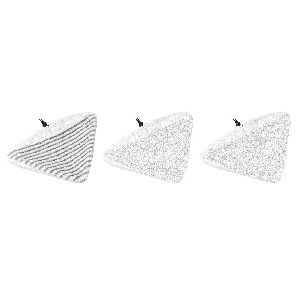 Bissell Steam Mop Select Pads - Set of 2, White