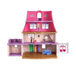 Fisher-Price Loving Family 4 Story Children's Toy Dollhouse Mansion Playset